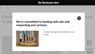 Washingtonpost adblocker