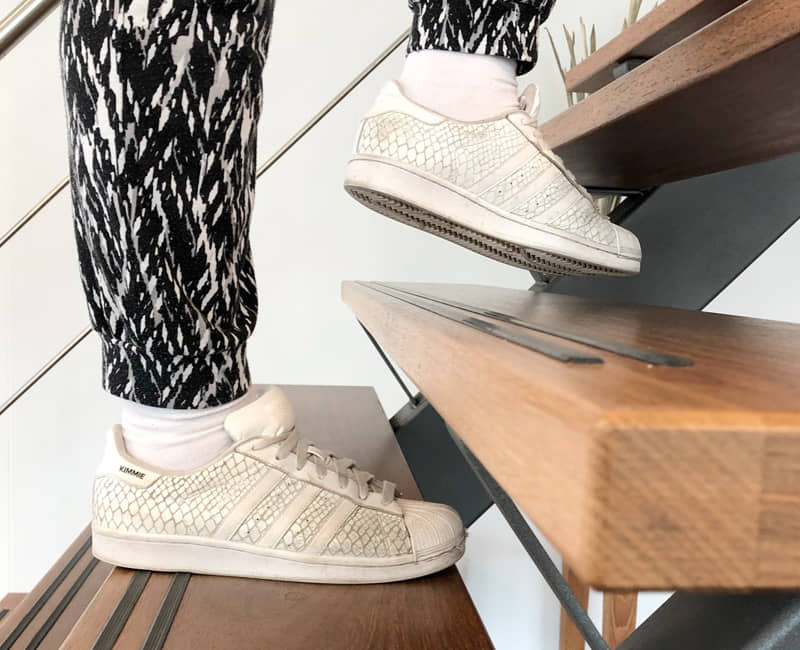 voeten trap