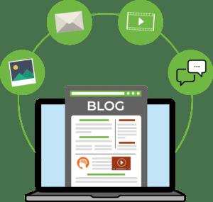 Website blog laten schrijven
